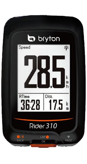 Bryton Rider 310 E ajotietokone , musta